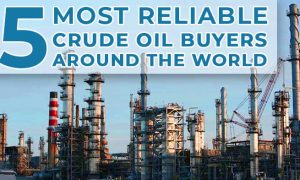 5 Most Reliable Crude Oil Buyers around the World
